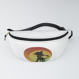 Wayang Puppet Asian Indonesia Theatre Tribal Cultural Art Fanny Pack