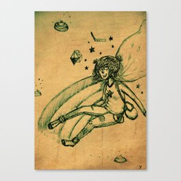 Super Lily Canvas Print