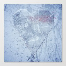 Heart of Glass Canvas Print