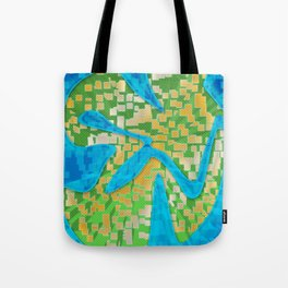 Neon Extrusion II Tote Bag