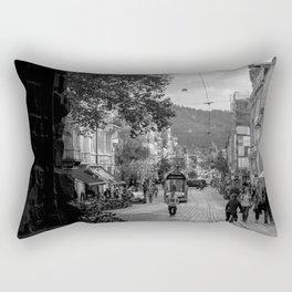 Streets of Freiburg Rectangular Pillow