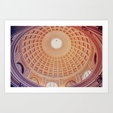 Dome full of colour Art Print