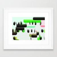 super mario Framed Art Prints featuring Super Mario  by Cristina Lobo