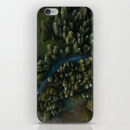 Arial View of River iPhone Skin