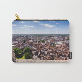 View of York from York Minster Cathedral tower Carry-All Pouch