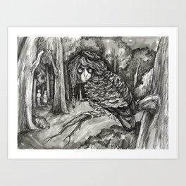 In the wilderness Art Print