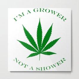 Marijuana Dispensary Legal Weed Metal Print