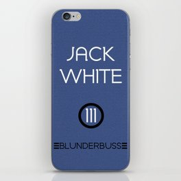 Jack White iPhone Skin