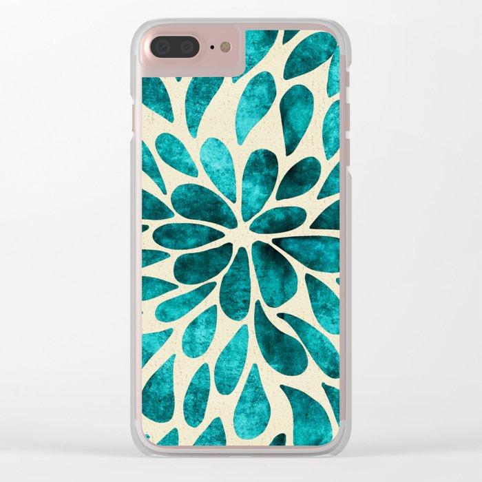 Petal Burst #20 Clear iPhone Case