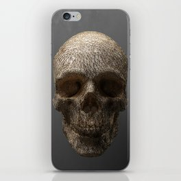 Golden Skull Triangles 1 iPhone Skin