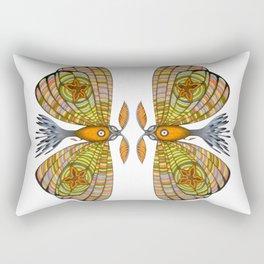 circus moth (ORIGINAL SOLD). Rectangular Pillow