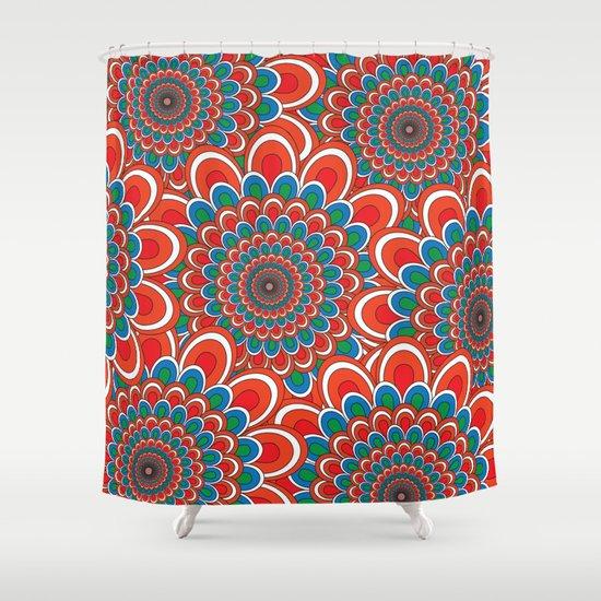 Pattern F Shower Curtain