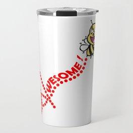 Bee Awesome Travel Mug