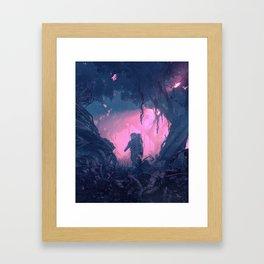 WRONG PLANET (everyday 08.30.18) Framed Art Print