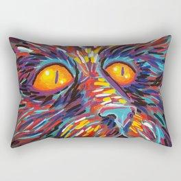 dog fa Rectangular Pillow