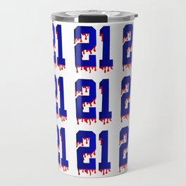 """""""21 21 21"""" Travel Mug"""