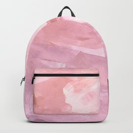 rose quartz Backpack