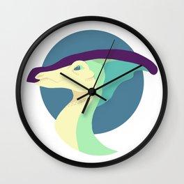 Parasaurolophus (Nocturnal) Wall Clock