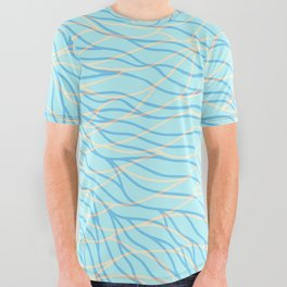 Sea Breeze All Over Graphic Tee