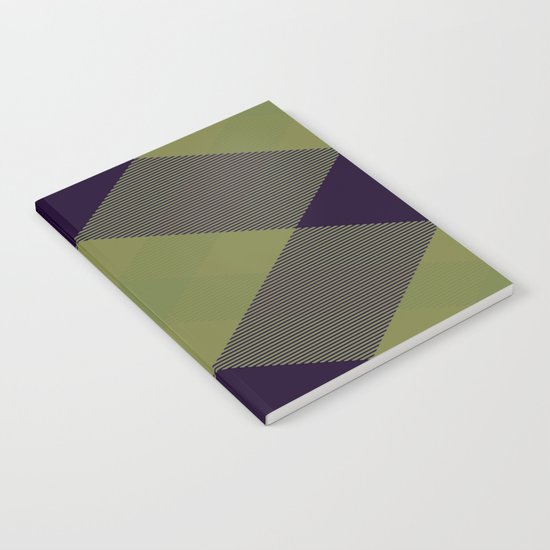 Tartan Pattern 2 Notebook
