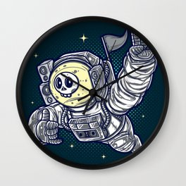 Too Cool Groove Astronaut to the Stars Wall Clock