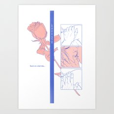 Timestamp Art Print
