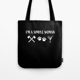 Funny Axe throwing Gift for Axe Thrower Tote Bag