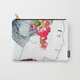 Sewing Portrait 4 Carry-All Pouch