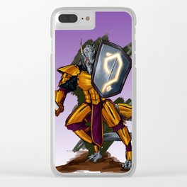 Dragon Warrior Clear iPhone Case