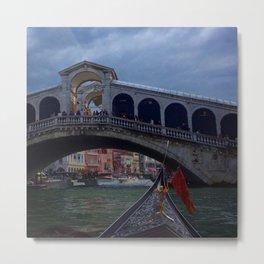 Venice Gondola ride Metal Print
