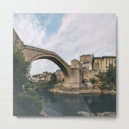 Mostar, Bosnia and Herzegovina Metal Print
