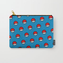 Poke Go Blue Edition Carry-All Pouch