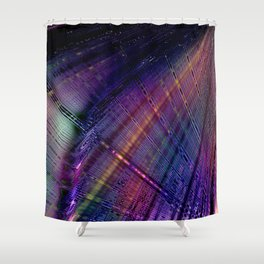 Thin Effervescence Shower Curtain