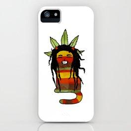 Jamaican Cat iPhone Case