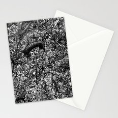 Overtime at the Power Station Stationery Cards