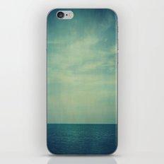 Sky Blue iPhone & iPod Skin