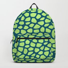 Abstract Leaves Pattern Backpack