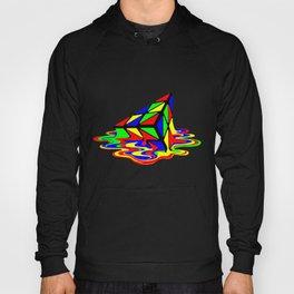 Pyraminx cude painting01B Hoody