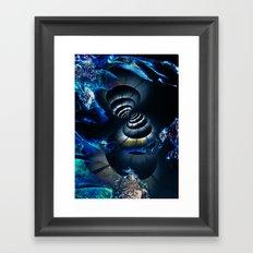 Meeting in Space Framed Art Print