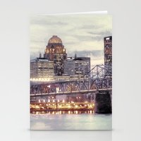 kentucky Stationery Cards featuring Louisville Kentucky by ThePhotoGuyDarren