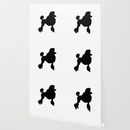 Poodle Dog Breed black Silhouette Wallpaper