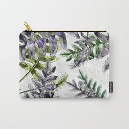 Vintage Ferns Carry-All Pouch