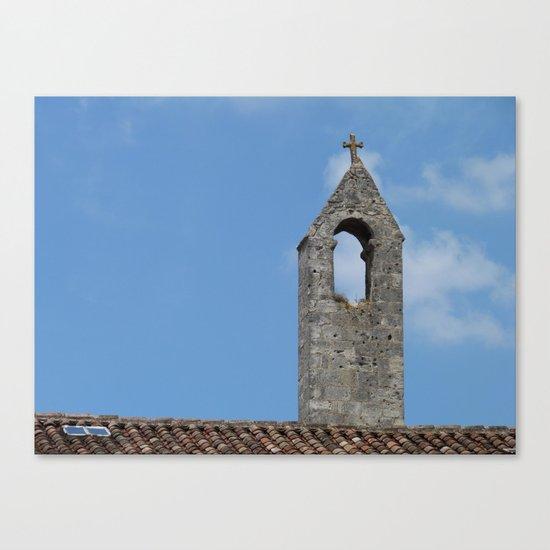 Saint Emilion rooftop Canvas Print