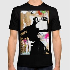 Hot NEW Decay Mens Fitted Tee MEDIUM Black