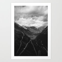 A little Norwegian slice of heaven. Art Print