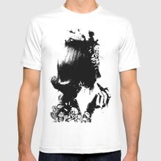 WOMAN SOLDIER Mens Fitted Tee White MEDIUM