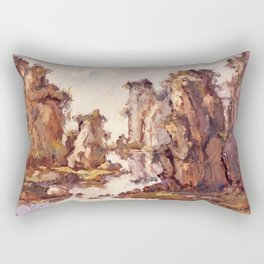 Stone Forest Rectangular Pillow