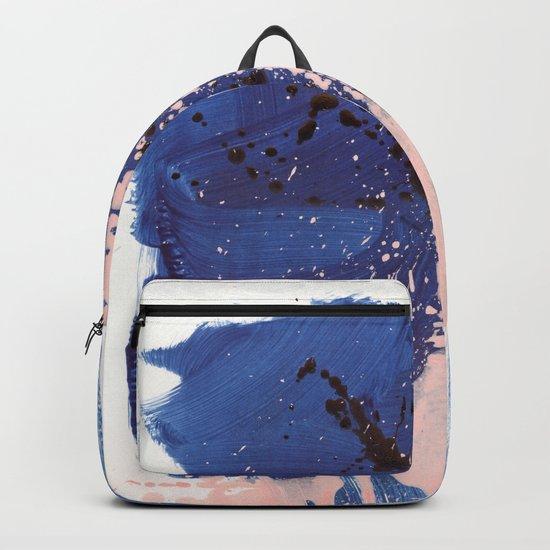 brush strokes 3 Backpack