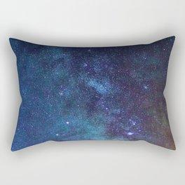 Galaxy Sky (Color) Rectangular Pillow