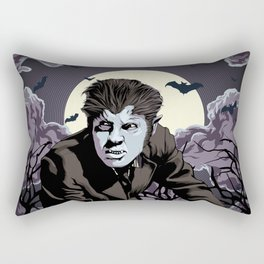 Wolfman Rectangular Pillow